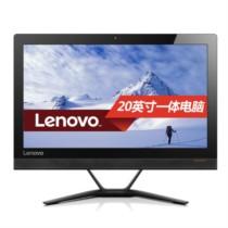 联想  AIO 300 20英寸一体机电脑( I3-6100T 4G 500G 集显 摄像头 Win10)黑色