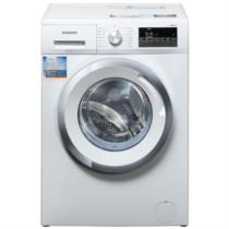 西门子  XQG80-WM12N2R00W 8公斤 变频 滚筒洗衣机 低噪音 防过敏功能 一键自清洁(白色)