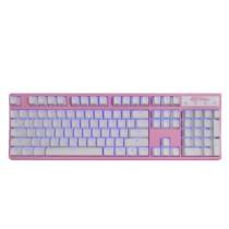 凯酷 104 RGB plus 粉色 混光 机械键盘 游戏背
