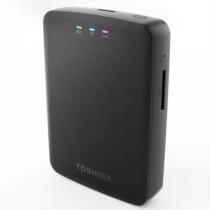 东芝 无线 1TB 2.5英寸 USB3.0移动硬盘 黑色