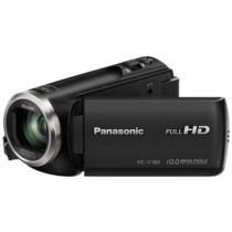 松下  HC-V180GK-K 数码摄像机 黑色(5轴防抖 水平纠正功能 28mm大广角录制 90倍智能变焦)