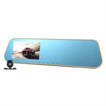 硕基 M760A 后视镜行车记录仪高清双镜头 1080P广角夜视