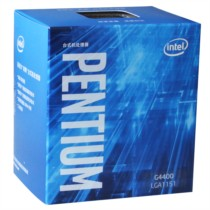 Intel 奔腾G4400 Skylake架构盒装CPU处理器(LGA1151/3.3GHz/3MB缓存/51W)
