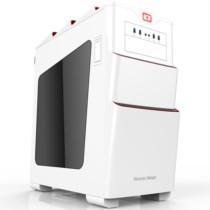 长城 涡轮T700WS电竞游戏机箱标准版白色 (自带3个14CM风扇/水冷/全免工具/USB3.0)