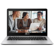 华硕 R457UJ 14.0英寸笔记本(i5-6200U 4G 500GB GT920M 2G独显 Win10 LED背光 蓝色)