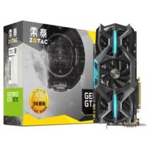 索泰 Geforce GTX 1070 玩家力量至尊OC 1594-1784MHz/8058MHz 8G/256bit GDDR5 PCI-E显卡