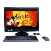 联想 扬天S4150 21.5英寸一体电脑 (i5-6400T 8G 8G+2T 2G独显 Wifi DVD刻 win7-64位)黑色