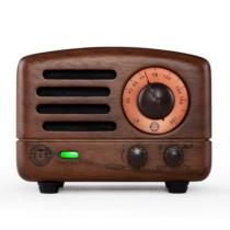 猫王 小王子胡桃木标准版便携蓝牙收音机音箱