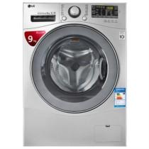 LG WD-VH454D5 9公斤 DD变频 全自动 滚筒 洗衣机 速净喷淋 大容量(奢华银色)