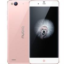 努比亚 布拉格S 玫瑰金 移动联通电信4G手机 双卡双待
