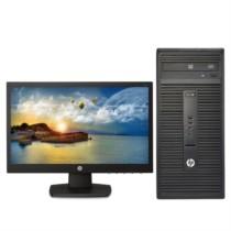 惠普  280G2 MT 台式电脑(i5-6500 4G 500G DVDRW Win7 21.5英寸显示器)