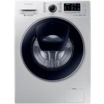 三星 WW80K5210VS/SC 8公斤 安心添 泡泡净 智能变频滚筒洗衣机 银色