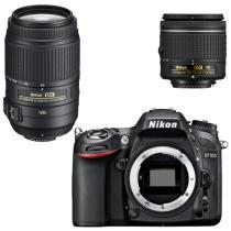 尼康 D7100 单反双镜头套机(AF-P 18-55mm f3.5-5.6G VR 防抖 + 55-300mm f4.5-5.6G)