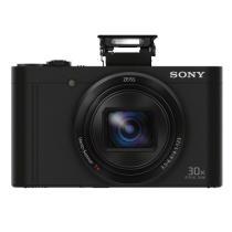索尼 DSC-WX500 数码相机 黑色(3英寸180度可翻转屏 30倍光学变焦 Wi-Fi分享上传