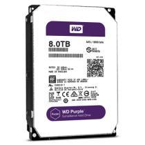 西部数据 紫盘 8TB SATA6Gb/s 128M 监控硬盘 (80PUZX)