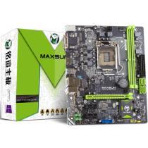 铭�u MS-H110D4L 全固版 主板( Intel H110/LGA 1151)