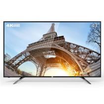 看尚 V43s 43英寸 4K智能超清窄边网络平板电视 标配底座