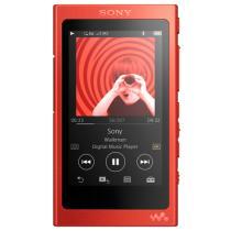 索尼 NW-A35HN Hi-Res高解析度无损降噪音乐播放器mp3/mp4 含耳机(朱砂红)