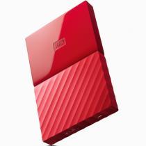 西部数据 New My Passport 3TB 2.5英寸 中国红 移动硬盘 BYFT0030BRD-CESN