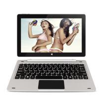 中柏 EZpad6 11.6英寸二合一平板电脑(Z8350/64G+4G/1920*1080FHD屏/Win10)极光银