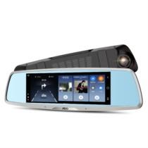 捷渡 S610 行车记录仪 双镜头 1080P高清电子狗智能后视镜导航一体机倒车影像(单镜头版)