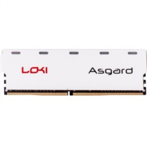 阿斯加特 洛极系列灯条 DDR4 8GB 2400频率 台式机内存 七彩闪烁