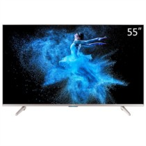 KKTV U55W 55英寸4K HDR 液晶平板智能电视机(香槟金色)
