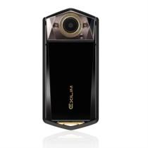 卡西欧 EX-TR750 美颜自拍 数码相机 (3.5英寸大屏 双LED灯 天使之眼)静谧黑