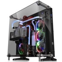 Thermaltake Core P5 TG 黑色 中塔机箱(支持ATX主板/5mm��化玻璃/开放式全景/弹性安装/模组化/双U3)