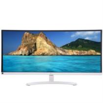 LG 34UM58A-W 34英寸21:9超宽屏IPS硬屏 护眼不闪滤蓝光LED背光液晶显示器