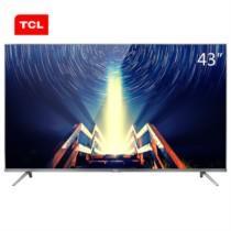 TCL 43A730U 43英寸30核人工智能超薄HDR 4K安卓LED液晶电视机(锖色)
