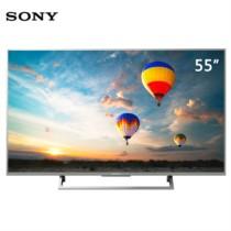 索尼 KD-55X8000E 55英寸4K HDR 安卓6.0 智能液晶电视(银色)