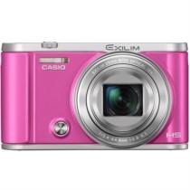 卡西欧 EX-ZR3700 数码相机(3.0英寸 广角25mm 180度可上翻液晶屏)美颜自拍相机 玫红色