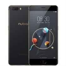 努比亚 M2 4G+64G 标准版 黑金色 移动联通电信4G手机 双卡双待