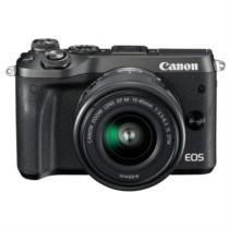 佳能 EOS M6(15-45)微型可换镜数码相机 黑色