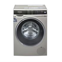 西门子  XQG100-WM14U669HW  10公斤  变频滚筒洗衣机  洗衣液自动添加  家居互联  (缎光银)