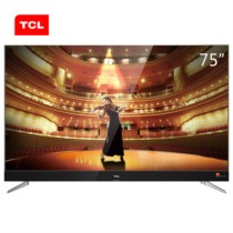 TCL 75C2 75英寸 RGB真4K超高清 64位34核智能电视(黑色)