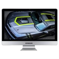 技讯(GVNXUHI) JXG5002 23.6英寸办公家用一体机电脑(i7-6700 4G 120G WIFI 无线键鼠 DOS)银白色