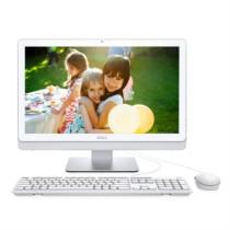 戴尔 灵越3264-R1208W 21.5英寸一体机电脑(4415U 4G 500G WIFI 蓝牙 三年上门 IPS屏 有线键鼠 白)