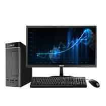 华硕 灵睿K20台式电脑(i3-6100 4GB 1TB 10L小机箱 )21.5英寸