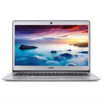 宏�  SF113 13.3英寸全金属超轻薄笔记本电脑(N3350 4G 128G SSD IPS 蓝牙 指纹识别)星光银