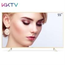 KKTV U55X 55英寸4K超高清金属超薄 HDR MEMC 26核64位液晶平板智能电视机 尊贵版 金色