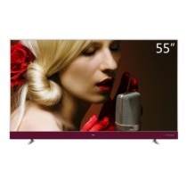TCL 55A950U 55英寸32核人工智能 纤薄金属机身HDR4K电视机(银色)