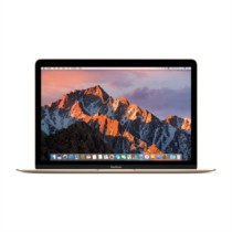苹果 MacBook 12英寸笔记本电脑 金色(Core m3 处理器/8GB内存/256GB闪存 MNYK2CH/A)