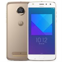 Moto z2 play 4G+64G 模块化手机 金色 移动联通电信4G手机 双卡双待