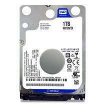 西部数据 蓝盘 1TB 5400转128M SATA 6 Gb/s 笔记本硬盘(10SPZX)