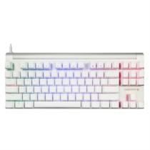 樱桃 MX Board 8.0 G80-3888HYAEU-0 RGB背光机械键盘 白色红轴