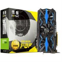 索泰 GTX1080Ti-11GD5X PGF  1569-1683/11010MHz 11GB/352bit GDDR5X PCI-E显卡