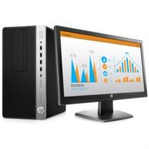 惠普 ProDesk 680 G3 MT 商务台式电脑19.5英寸(i5-6500 4G 1T 1G独显 DVDRW Win7)