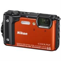 尼康 COOLPIX W300s 防水 防震 防寒 防尘 数码相机 (橙色)
